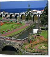 The Gardens Of Ribeira Grande Canvas Print
