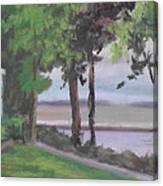 The Gazebo At Lakeside Ohio Canvas Print
