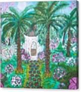 The Gazebo Of My Dreams Canvas Print