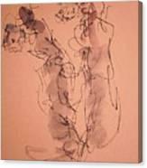 The Geisha  Four Canvas Print