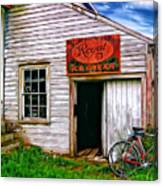 The General Store Painted Canvas Print