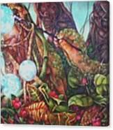 The Genesis Totem Canvas Print