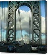 The George Washington Bridge  Canvas Print
