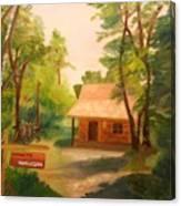 The Getaway Canvas Print