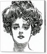 The Gibson Girl Canvas Print
