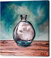 The Glass Bottle Canvas Print