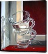 The Glass Cups Canvas Print