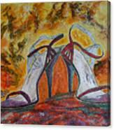 The Glitter Twins Canvas Print