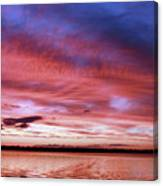 The Gloaming Of Lac Vieux Desert Canvas Print