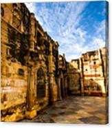 The Glorious Ruins Canvas Print