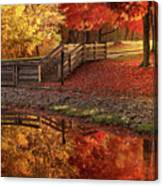 The Glory Of Autumn Canvas Print