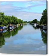 The Gloucester And Sharpness Canal Canvas Print