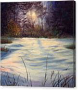 The Glow Of Winter Canvas Print