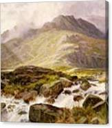 The Glyder Fawr  Canvas Print
