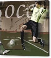 The Goalkeeper Canvas Print