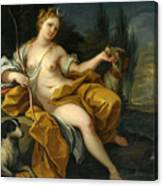 The Goddess Diana Canvas Print