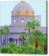 The Gold Dome Canvas Print