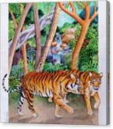 The Gold Of The Tigers Canvas Print