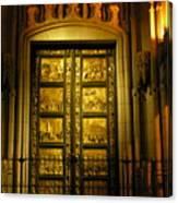 The Golden Door Canvas Print