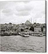 The Golden Horn Canvas Print
