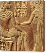 The Golden Shrine Of Tutankhamun Canvas Print