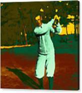 The Golfer - 20130208 Canvas Print