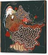 The Good Night Angel Canvas Print
