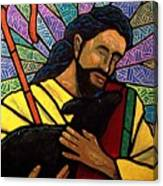 The Good Shepherd - Practice Painting One Canvas Print