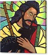 The Good Shepherd - Practice Painting Two Canvas Print