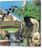 The Goose Canvas Print