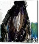 The Gorilla Snub Canvas Print