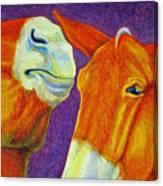 The Gossip Canvas Print