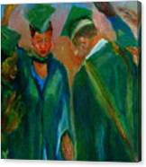 The Graduates Canvas Print