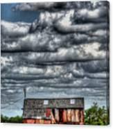 The Grain Barn Canvas Print