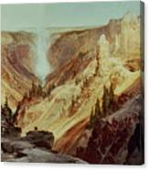 The Grand Canyon Of The Yellowstone Canvas Print