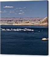 The Grand View Of Wahweap Bay Canvas Print