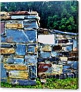 The Grateful Stone Wall Canvas Print