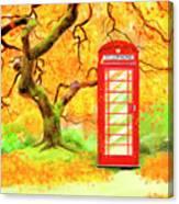 The Great British Autumn Canvas Print
