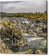 The Great Falls Of The Potomac Canvas Print
