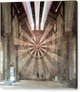 The Great Hall, Winchester Castle, Hampshire Zoom Burst Canvas Print