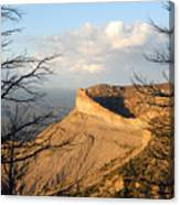The Great Mesa Canvas Print