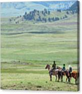 The Great Montana Expanse Canvas Print