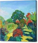 The Great Oak Canvas Print
