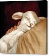 The Great Shepherd's Love Canvas Print