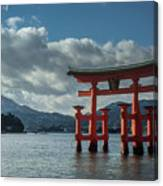 The Great Torii Canvas Print