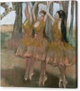 The Greek Dance Canvas Print