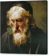 The Greek Priest Canvas Print