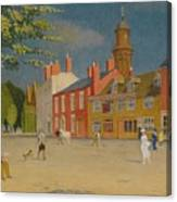 The Green At Banbury Canvas Print
