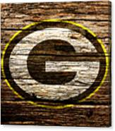 The Green Bay Packers 1b Canvas Print