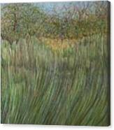 The Green Field Canvas Print